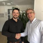 Oleg Bayer und Martin Schulze (CEO BusinessCode)