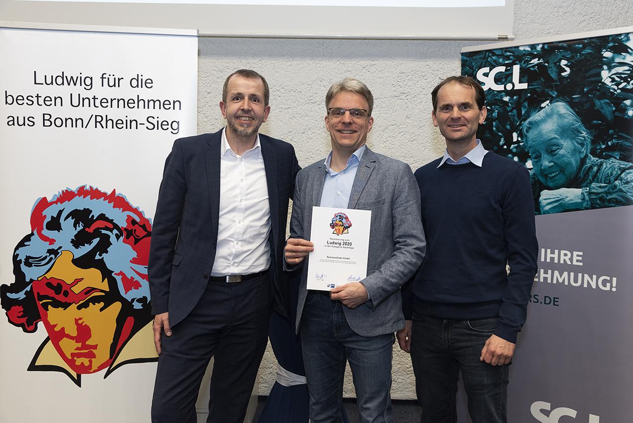Harald Wagener, Martin Schulze, Markus Burg (Foto: Jo Hempel)