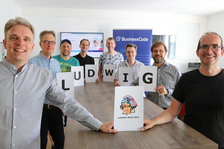 BusinessCode mit Ludwig 2020-21 für beste Unternehmensnachfolge ausgezeichnet